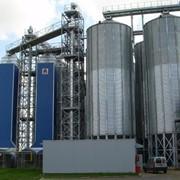 Зернохранилища. Силосные зернохранилища фото