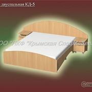 Кровать двуспальная КД-5 фото