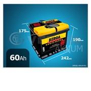 Батарея Berga Basic-block 60Ah прямая полярность фото