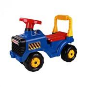"""Машинка детская """"Трактор"""" (синий) фото"""