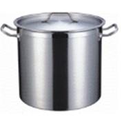 Котел 25 литров, 32х32 см, нержавеющая сталь фото