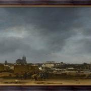 Картина Вид Делфта после взрыва 1654 года, Пул, Эгберт ван дер фото