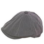 Кепка восмиклинка V15001 светло-серый фото