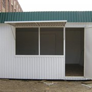 Строительство киосков в Астане фото