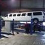 Автоподъемник платформенный 4 стоечный 24 тонны фото