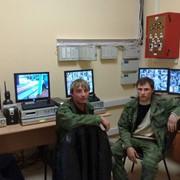 Монтаж системы видеонаблюдения фото