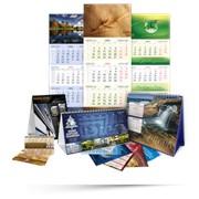 Календари в Алматы, Изготовление календарей фото