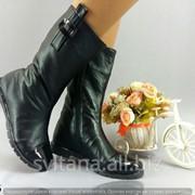 Женские ботинки с мехом код 12436 фото
