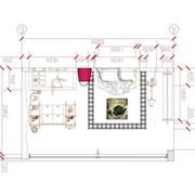 Составление развертки стен с декоративными элементами, Развертки по стенам фото