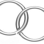 Кольца металлические фото