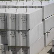 Блоки фундаментные стеновые ФБС,  фото