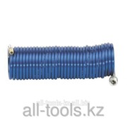 Шланг спиральный Rilsan 10мм/8бар/10м с БЗМ и нип. Код: 901054967 фото