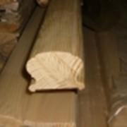 Поручень деревянный фото