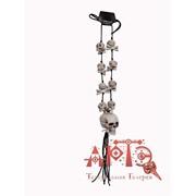 Ожерелье Череп с костями фото