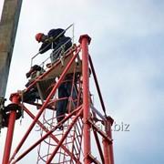 Электромонтажные работы на высоте фото