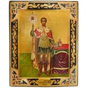 Икона подарочная Святой Александр Невский фото