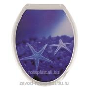 Крышка для унитаза декор Звезда, Код: РП-8133 фото