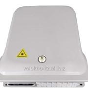 Оптический распределительный бокс-муфта FTTH-А24 с возможностью установки на столб и опорв ВЛ фото