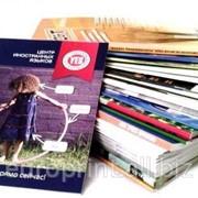 Печать каталогов, брошюр, журналов фото