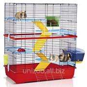 Клетка для грызунов Imac Double 100, красная фото