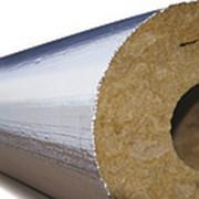 Кашированные цилиндры PullWool Al для труб (плотность 100, толщина 100мм) фото