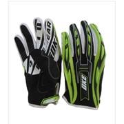 Перчатки МТ790 black/green L фото