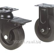 Набор из четырех колес для инструментальных тележек фото