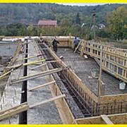 Строительство фундамента под дом, стоимость м3 куб фото