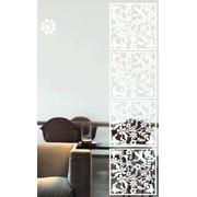 Декоративные панели черный Цвет Райский Сад фото