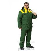 Костюм Буран зеленый/желтый фото