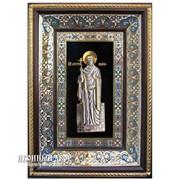 Святая Мученица Лидия - Именная Икона С Серебром И Позолотой Код товара: ОСФ-02-Лидия фото