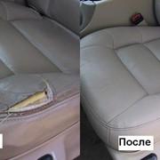 Восстановление авто сидений фото