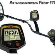 Металлоискатель Fisher F 75 фото