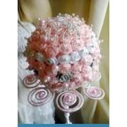 Брошь-букет невесты Искушение, свадебные букеты, Ялта. фото