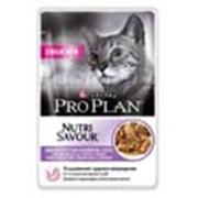 Корм для котов Pro Plan NutriSavour Delicate паучи для кошек с индейкой в соусе фото