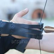 Напальчник-перчатка (когти) для стрельбы из лука фото