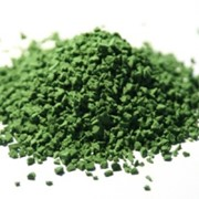 Крошка фракции 2-3 мм ярко-зеленого цвета (002) фото