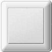 Включатель Vesta наружный одинарный, двойной фото