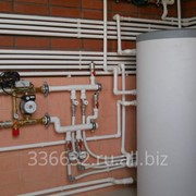 Монтаж объектов водо-, газо-, теплообеспечения фото
