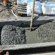 Изготовление бетона вручную фото