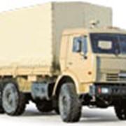 Бортовой тягач на базе полноприводного (колесная формула 6х6) шасси КамАЗ-43118 фото