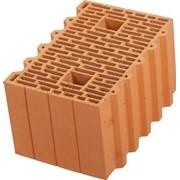 Керамический поризованный блок Porotherm 38 фото