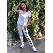 Женский спортивный костюм известного бренда, в расцветках. Д-55-0518(774) фото