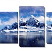 Модульная картина Льды панорама, Неизвестен фото