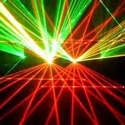 Лучевое Лазерное шоу фото