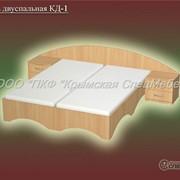 Кровать двуспальная КД-1 фото