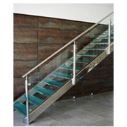 Стеклянные лестницы,стекло,лестницы,лестницы стеклянные,Новояворовск,Львов,Львовская область фото