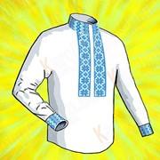 Заготовка для сорочки. Размер 44-56 КСМ(х/б) - 01 фото