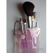 Кисти для макияжа набор 4шт GLOBOS BS-21