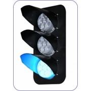 Головки мачтового светофора Метро со светодиодными светооптическими системами ССС фото